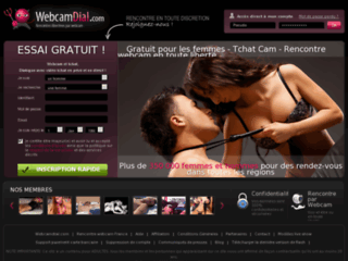 Webcamdial, le site de rencontre par tchat et webcam